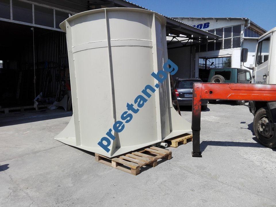 Реактор смесител за високо корозионни течности - 10м3