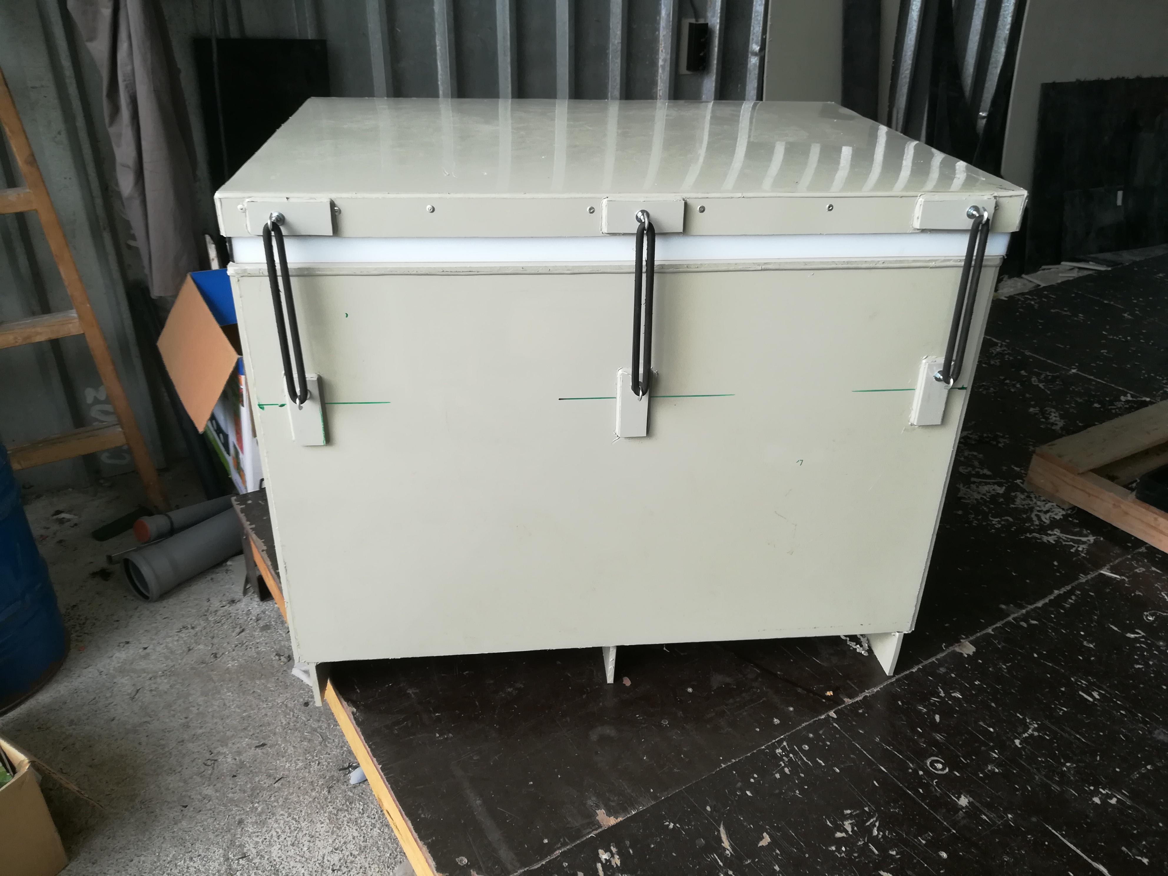 Кутия за съхранение на сух лед