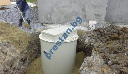 Приложение на малка пречиствателна станция за еднофамилна вила