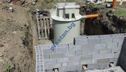 Приложение на малка пречиствателна станция за еднофамилна къща