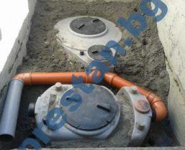 Мазниноуловители и каломаслоуловител за  бензиностанция под земята