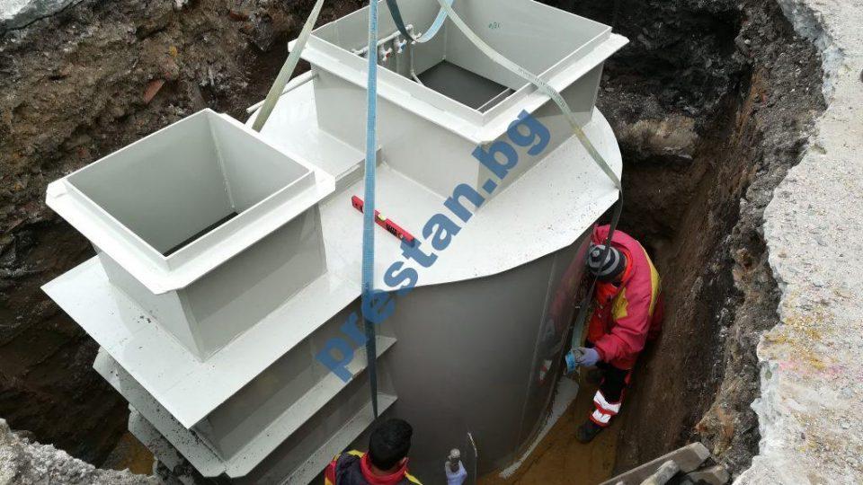 резервоари за вода