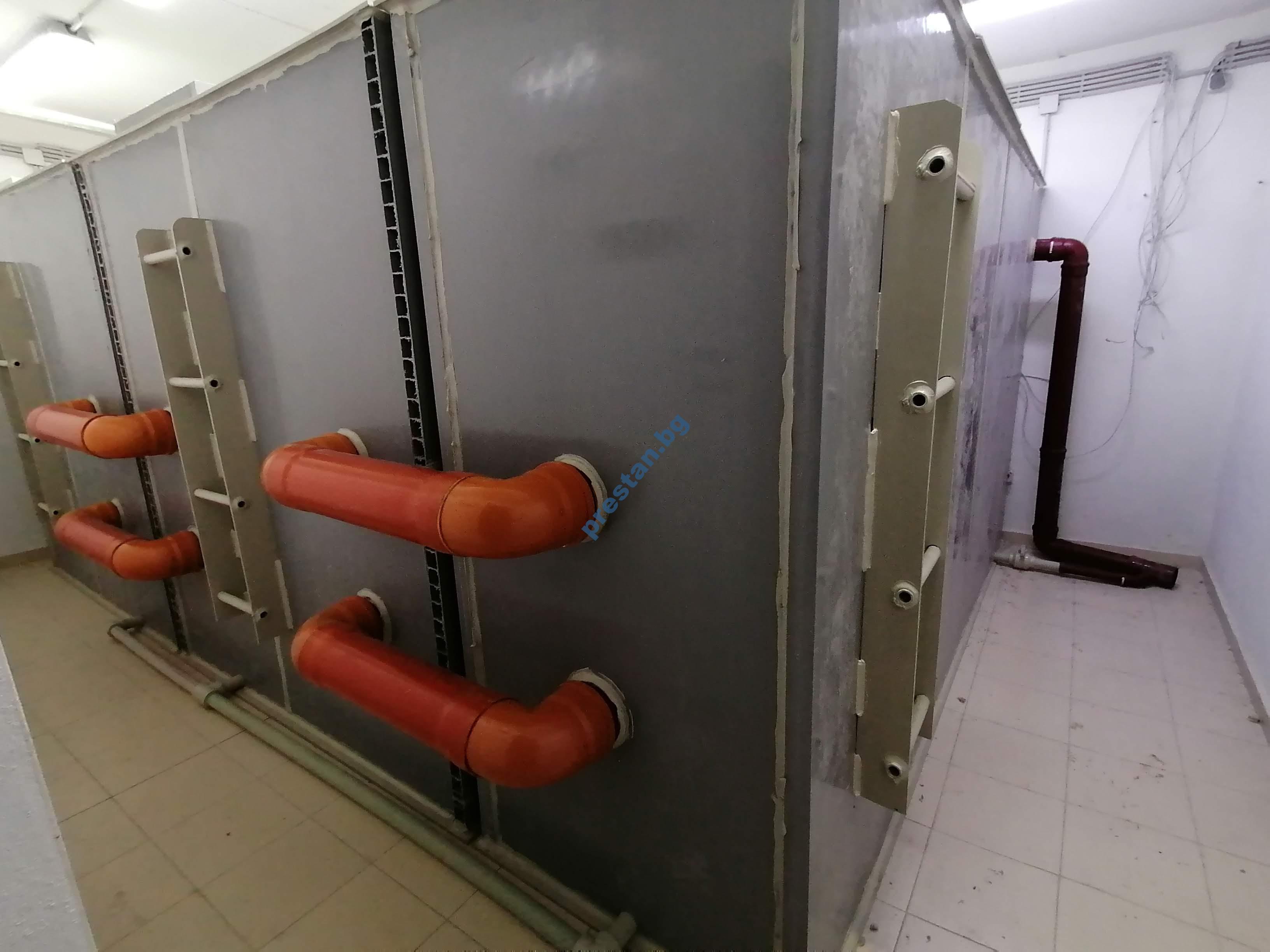 резервоар изграден на място